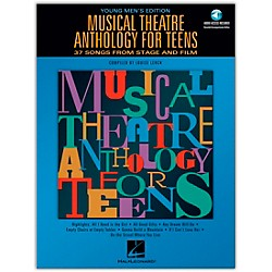 Hal Leonard Musical Theatre Anthology For Teens - Young Men's Edition Book/2CD's (740190)
