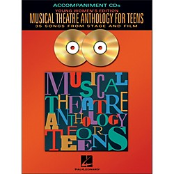 Hal Leonard Musical Theatre Anthology For Teens - Young Women's Edition  2CD Accompaniment (740320)