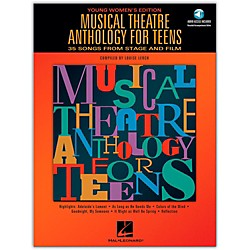 Hal Leonard Musical Theatre Anthology For Teens - Young Women's Edition Book/2CD's (740189)