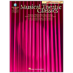 Hal Leonard Musical Theatre Classics For Baritone / Bass Book/CD Pkg (740041)