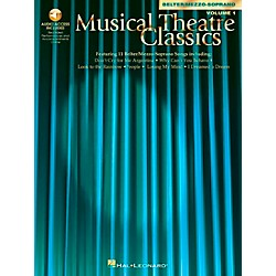 Hal Leonard Musical Theatre Classics For Mezzo-Sporano / Belter Volume 1 Book/CD (740038)