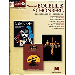 Hal Leonard Musicals Of Boublil & Schonberg - Pro Vocal Series Women's Edition Volume 14 Book/CD (740350)
