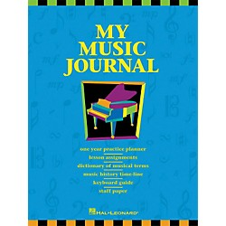 Hal Leonard My Music Journal Student Assignment Book HLSPL (296040)