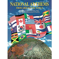 Hal Leonard National Anthems Piano, Vocal, Guitar Songbook (311633)