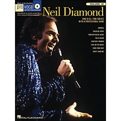 Hal Leonard Neil Diamond - Pro Vocal Songbook For Male Singers Volume 40 Book/CD (740387)