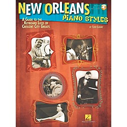 Hal Leonard New Orleans Piano Styles - Book/CD (111674)