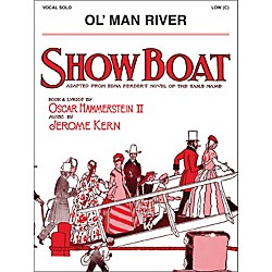 Hal Leonard Ol' Man River Low C From Show Boat Vocal Solo (1120167)