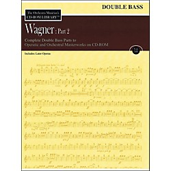 Hal Leonard Orchestra Musician's CD-Rom Library Vol 12 Wagner Part 2 Double Bass (220306)