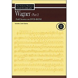 Hal Leonard Orchestra Musician's CD-Rom Library Vol 12 Wagner Part 2 Full Scores DVD-Rom (220308)