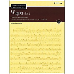 Hal Leonard Orchestra Musician's CD-Rom Library Vol 12 Wagner Part 2 Viola (220304)