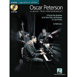 Hal Leonard Oscar Peterson Classic Trio Performances - Piano Signature Licks Series (CD/Booklet) (695871)