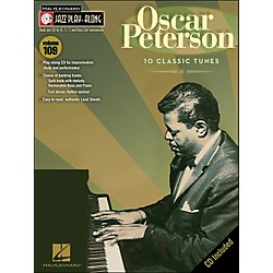Hal Leonard Oscar Peterson Jazz Play- Along Volume 109 Book/CD (843160)