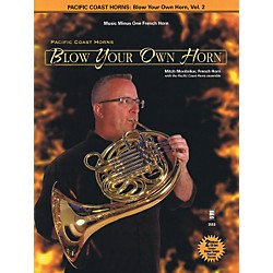 Hal Leonard Pacific Coast Horns - Blow Your Own Horn, Vol. 2 for French Horn Book/2CD (400780)