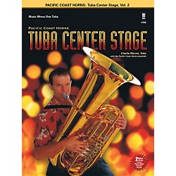 Hal Leonard Pacific Coast Horns - Tuba Center Stage, Vol. 2 Book/2CD (400777)