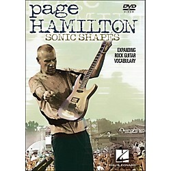 Hal Leonard Page Hamilton - Sonic Shapes: Expanding Rock Guitar Vocabulary (DVD) (320707)