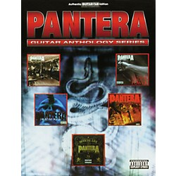 Hal Leonard Pantera Anthology Guitar Tab Songbook (699425)