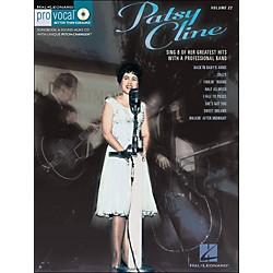 Hal Leonard Patsy Cline - Pro Vocal Songbook Women's Edition Volume 22 Book/CD (740374)