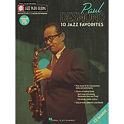Hal Leonard Paul Desmond Jazz Play-Along Series (Book/CD) (843077)