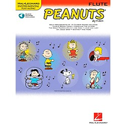 Hal Leonard Peanuts For Flute - Instrumental Play-Along Book/CD (842430)