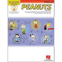 Hal Leonard Peanuts For Viola - Instrumental Play-Along Book/CD (842438)