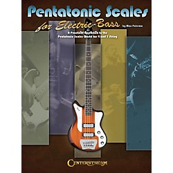 Hal Leonard Pentatonic Scales for Electric Bass (Book) (1222)
