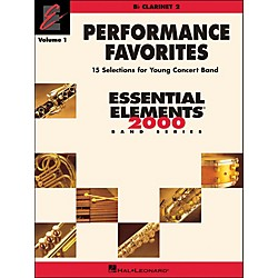 Hal Leonard Performance Favorites Volume 1 Clarinet 2 (860186)
