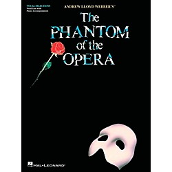 Hal Leonard Phantom Of The Opera - Vocal Selections (Voice With Piano Accompaniment) (102671)