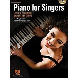 Hal Leonard Piano For Singers: Learn To Accompany Yourself And Others Book/CD (311771)