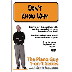 Hal Leonard Piano Guy 1-On-1 Series - Don't Know Why (DVD) (321246)