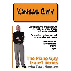 Hal Leonard Piano Guy 1-On-1 Series Kansas City DVD (320982)