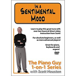 Hal Leonard Piano Guy 1-On-1 Series Sentimental Mood DVD (320981)
