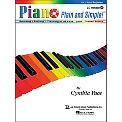 Hal Leonard Piano Plain And Simple With CD (372364)