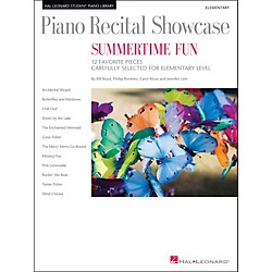 Hal Leonard Piano Recital Showcase - Summertime Fun - Elementary Level Book (296831)
