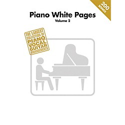 Hal Leonard Piano White Pages Vol 2 Piano/Vocal/Guitar Songbook (312562)