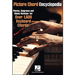 Hal Leonard Picture Chord Encyclopedia Over 1600 Keyboard Chords 6X9 (310978)