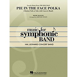Hal Leonard Pie In The Face Polka (Clarinet Section Feature) - Hal Leonard Concert Band Series Level 4 (4003140)