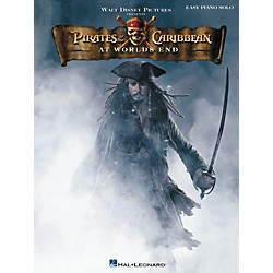 Hal Leonard Pirates Of The Caribbean - At World's End For Easy Piano Solo (316114)