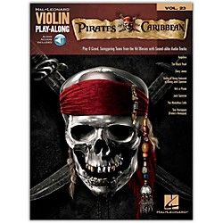Hal Leonard Pirates Of The Caribbean - Violin Play-Along Volume 23 Book/CD (842625)