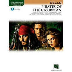 Hal Leonard Pirates Of The Caribbean For Cello Instrumental Play-Along Book/CD (842192)