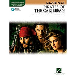 Hal Leonard Pirates Of The Caribbean For Clarinet Instrumental Play-Along Book/CD (842184)