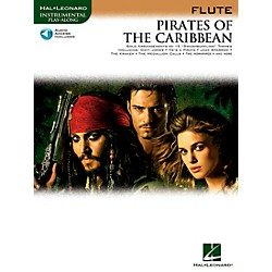 Hal Leonard Pirates Of The Caribbean For Flute Instrumental Play-Along Book/CD (842183)
