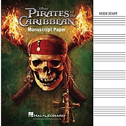 Hal Leonard Pirates Of The Caribbean Manuscript Paper (210118)