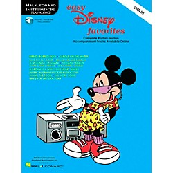 Hal Leonard Play-Along Disney Favorites Book with CD Violin (841372)