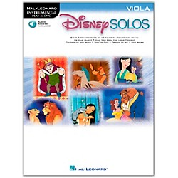 Hal Leonard Play-Along Disney Solos Book with CD (841411)