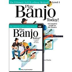 Hal Leonard Play Banjo Today! Beginner's Pack - Includes Book/CD/DVD (701873)
