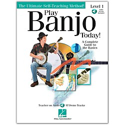 Hal Leonard Play Banjo Today! Level One - A Complete Guide To the Basics (Book/CD) (699897)