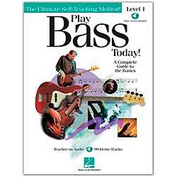 Hal Leonard Play Bass Today! - Level 1 Book/CD (842020)