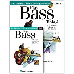 Hal Leonard Play Bass Today! Level One (Book/CD/DVD) (699552)