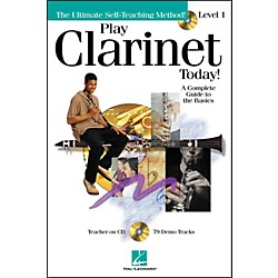 Hal Leonard Play Clarinet Today! Level 1 CD/Pkg (699490)