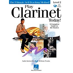 Hal Leonard Play Clarinet Today! Level 2 CD/Pkg (842047)